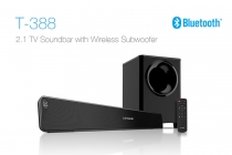 F&D T388 2.1 TV Soundbar with Wireless Subwoofer